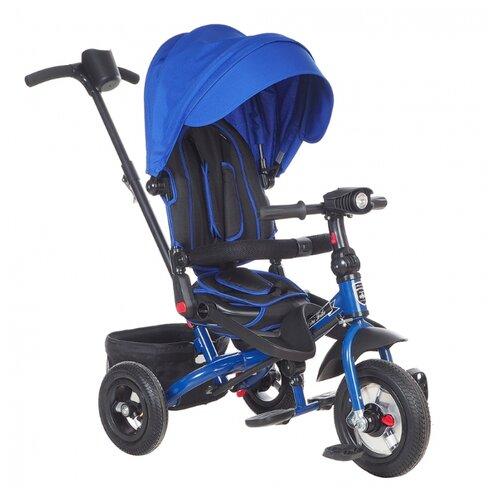 Купить Трехколесный велосипед Mars Mini Trike Transformer T400/2018, синий, Трехколесные велосипеды