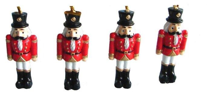 Украшение Breitner Новогодние солдатики 4шт 5.5cm 14-0536