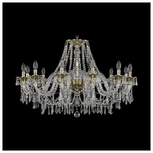 Фото - Люстра Bohemia Ivele Crystal Ivele Crystal 16103/12/360 G, E14, 480 Вт люстра bohemia ivele crystal 7201 72301 12 360 b g e14