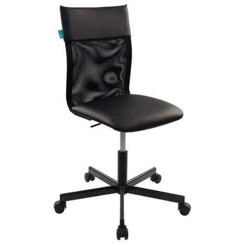 Компьютерное кресло Бюрократ CH-1399, обивка: искусственная кожа, цвет: black кресло бюрократ ch 1399 на колесиках искусственная кожа серый [ch 1399 grey]