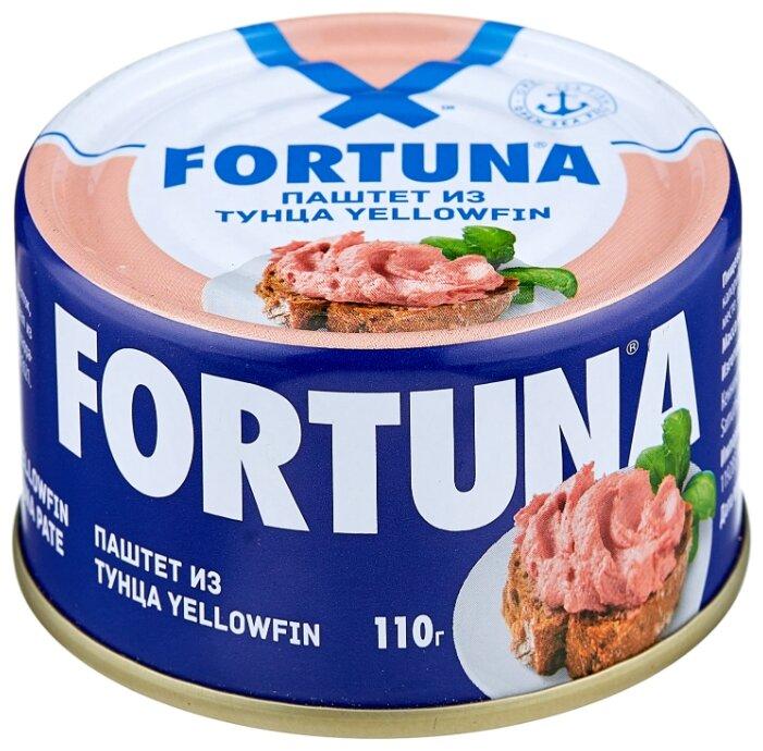 Паштет Fortuna из тунца 110 г