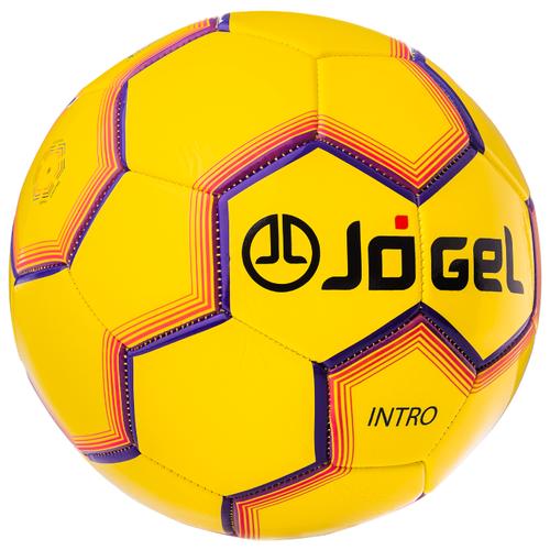 Футбольный мяч Jögel JS-100 Intro желтый 5