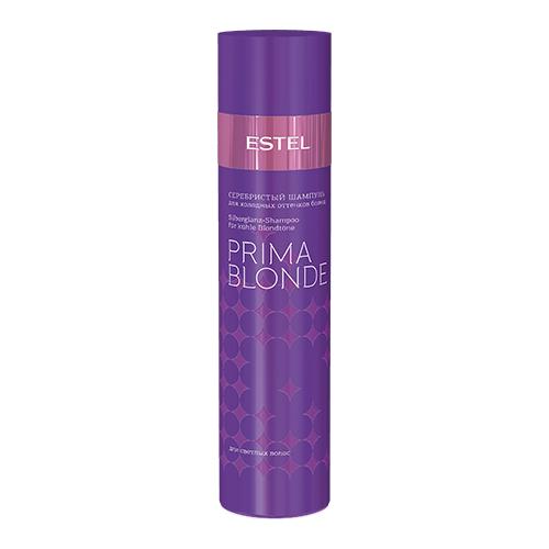 Купить Estel Professional шампунь Prima Blonde Серебристый для холодных оттенков блонд, 250 мл