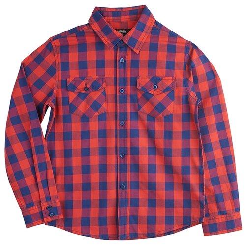 Рубашка Daniele Patrici размер 7-8, красныйРубашки<br>