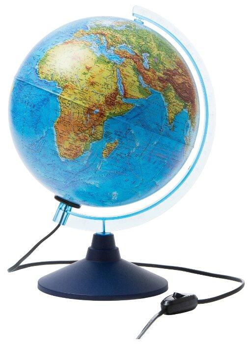 Глобус Земли Globen Физико-политический с подсветкой 250 серия Евро Ке012500191