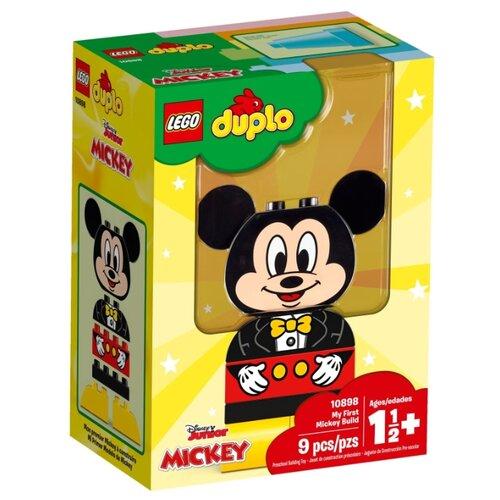 Купить Конструктор LEGO Duplo 10898 Мой первый Микки, Конструкторы