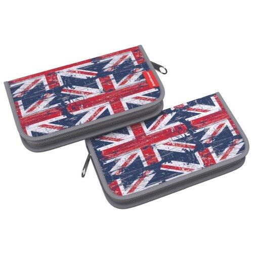 Фото - ErichKrause Пенал-книжка British Flag (46323) красный/синий пенал british flag