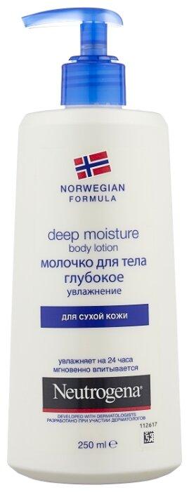 Молочко для тела Neutrogena Norwegian Formula Глубокое увлажнение для сухой кожи