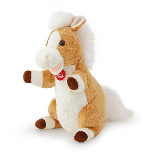 цена на Trudi Игрушка на руку Лошадь, 29808 бежевый
