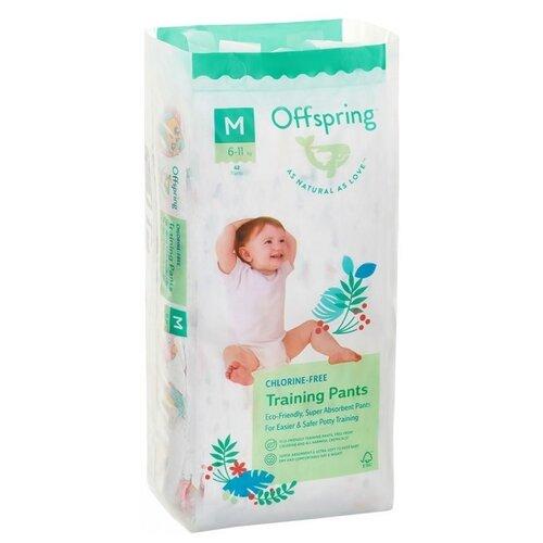 Купить Offspring трусики M (6-11 кг) 42 шт. совы, Подгузники