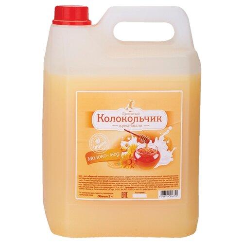Крем-мыло жидкое Колокольчик Молоко-мед, 5 л