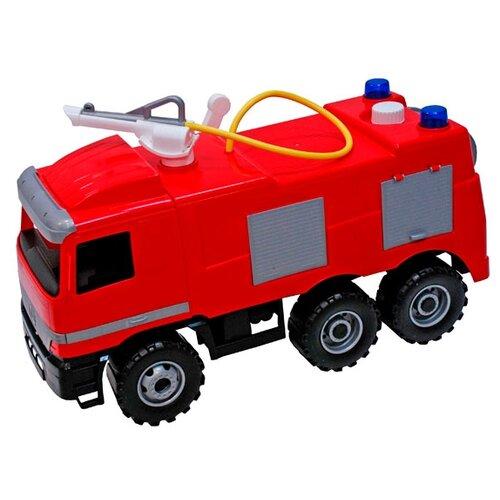 Купить Каталка-толокар Lena Пожарная машина Mercedes (02028) красный, Каталки и качалки