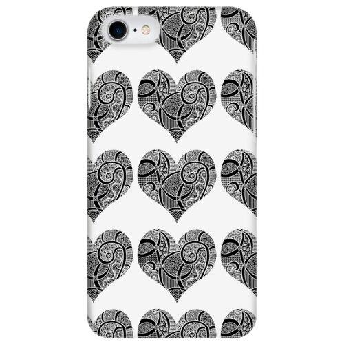 Чехол Mitya Veselkov IP7.MITYA-031 для Apple iPhone 7/iPhone 8 зентангл сердца обложка для паспорта кожаная mitya veselkov мишки на велике с шариками