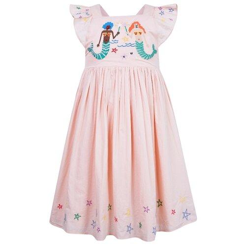 Платье Stella McCartney размер 98, розовый