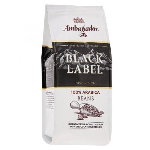 Кофе зерновой Ambassador Black Label, 200 г