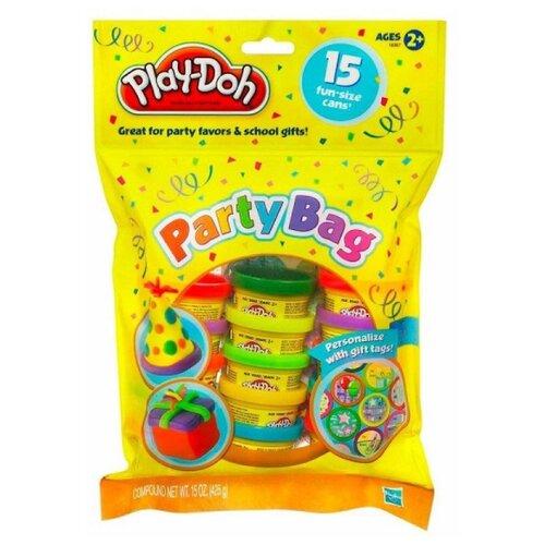 Купить Масса для лепки Play-Doh Набор для праздника 15 мини-банок (18367), Пластилин и масса для лепки