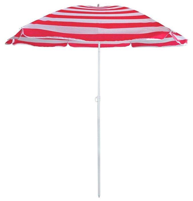 Пляжный зонт ECOS BU-68 купол 175 см, высота 205 см