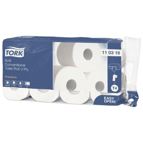 Туалетная бумага TORK Premium 110316 8 рул. бумага tork 120243 premium 2 сл бел o19 o6 10 170м 12 рул уп