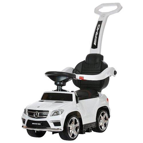 Купить Каталка-толокар RiverToys Mercedes-Benz A888AA-H со звуковыми эффектами белый, Каталки и качалки