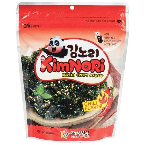 Хлопья из водорослей KimNori со вкусом Чили 40 г