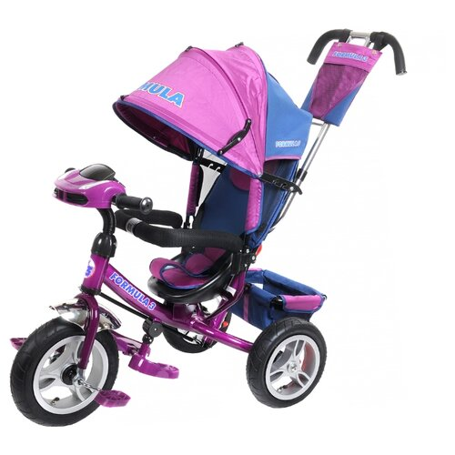 Фото - Трехколесный велосипед Formula FA3 Formula 3 фиолетовый полесье велосипед трехколесный дидактик 3 46598 цвет в ассортименте