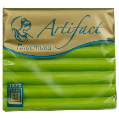Полимерная глина Artifact Advanced formula зеленая хризантема (459), 56 г