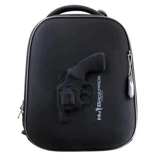 Купить Hatber Рюкзак Ergonomic Gun (NRk_30002), черный, Рюкзаки, ранцы