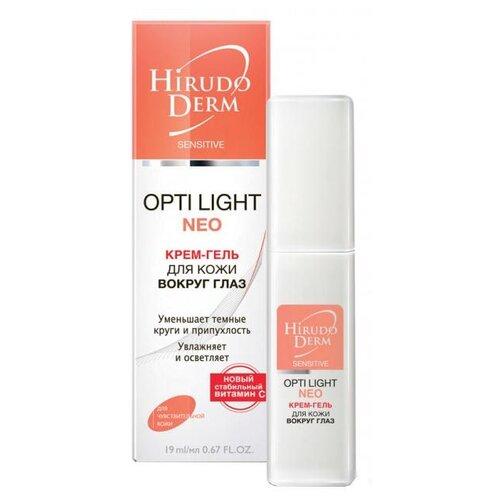 Hirudo Derm Крем-гель для кожи вокруг глаз Opti Light Neo, 19 мл недорого
