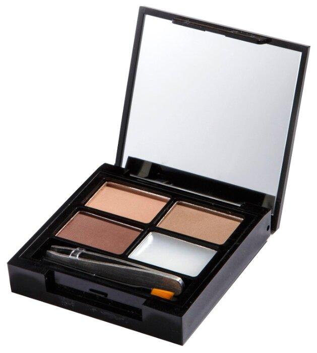 REVOLUTION Палетка для бровей Focus & Fix Eyebrow Shaping Kit