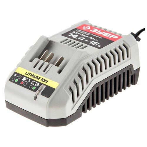 Зарядное устройство ЗУБР БЗУ-14.4-18 М1 14.4 В зарядное