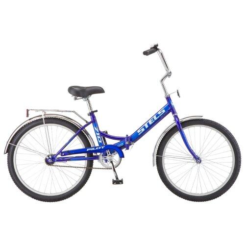 Фото - Городской велосипед STELS Pilot 710 24 Z010 (2018) синий 16 (требует финальной сборки) городской велосипед stels navigator 300 lady 28 z010 2018 фиолетовый 20 требует финальной сборки