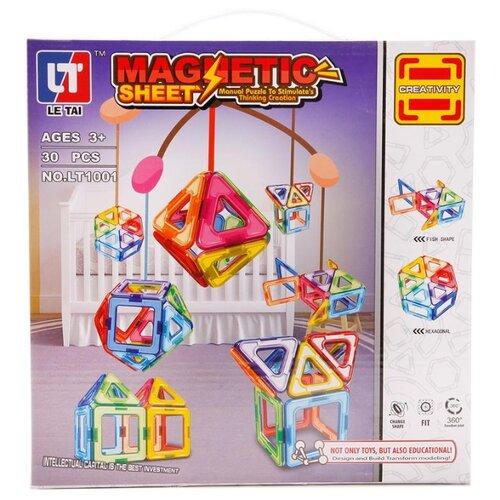 Купить Магнитный конструктор LeTai Magnetic Sheet Creativity LT1001, Конструкторы