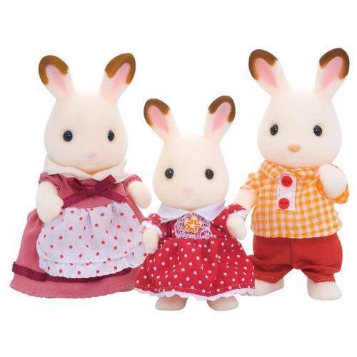 Фигурки Sylvanian Families Семья Шоколадных кроликов 5304 набор семья кроликов sylvanian families