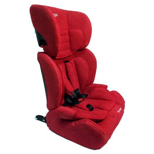 Автокресло группа 1/2/3 (9-36 кг) Kenga BС702F isofix, красный автокресло группа 1 2 3 9 36 кг little king lk 03 isofix черный красный