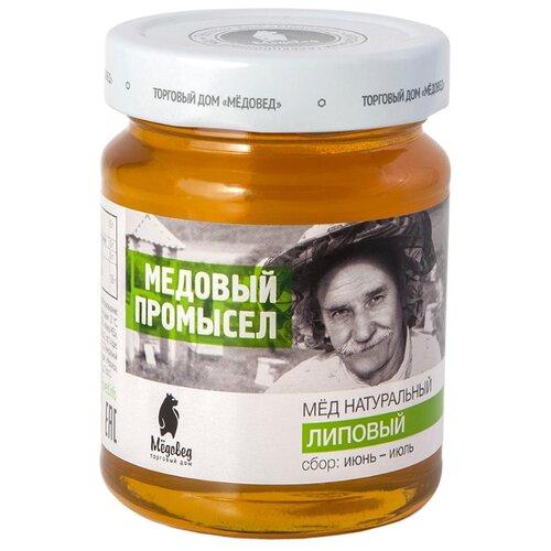 Мед Мёдовед Медовый промысел Липовый 350 г