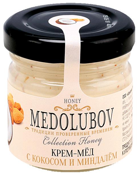 Крем-мед Medolubov с кокосом и миндалем 40 мл