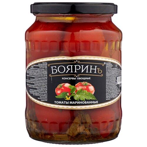 Томаты маринованные Бояринъ стеклянная банка 720 мл томаты черри mikado маринованные