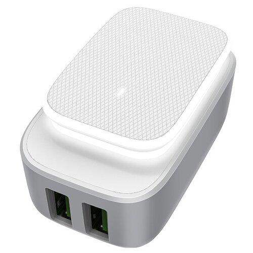 Купить Сетевая зарядка LDNIO A2205 + Micro USB белый