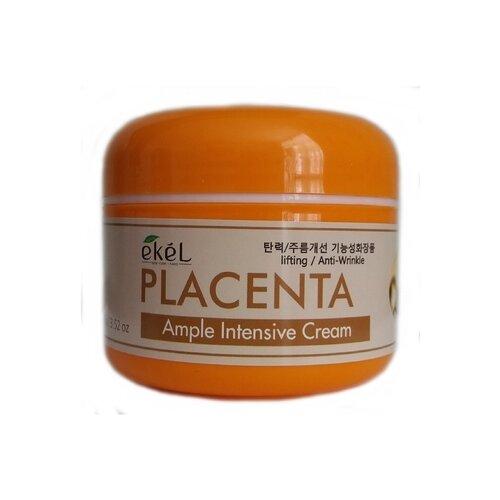 Купить Ekel Ample Intensive Cream Placenta Крем для лица с плацентой, 100 г