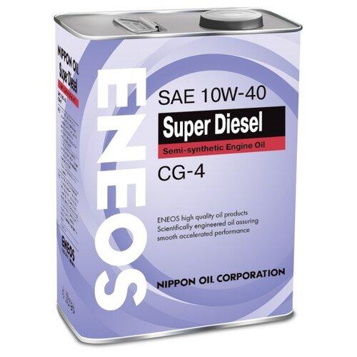 Моторное масло ENEOS Super Diesel CG-4 10W-40 4 л