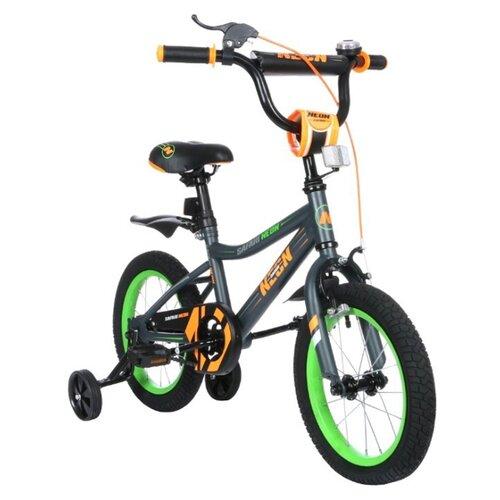 Детский велосипед Grand Toys GT9504 Safari Proff Neon оранжевый (требует финальной сборки)