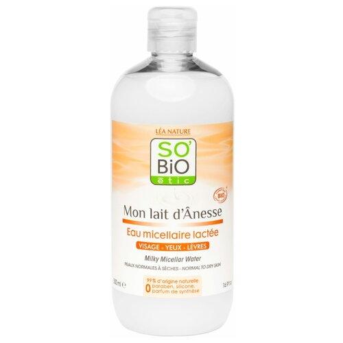 SO'BiO etic мицеллярная вода Молочная, 500 мл
