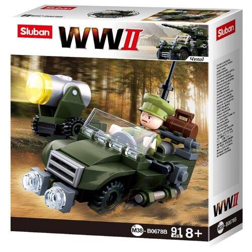 Конструктор SLUBAN WW2 M38-B0678B Военная техника, Конструкторы  - купить со скидкой