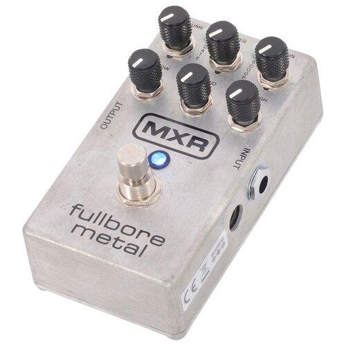 Dunlop педаль M116 MXR Fullbore Metal Distortion педаль эффектов fender pugilist distortion pedal