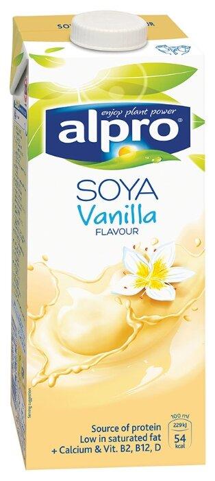 Соевый напиток alpro Ванильный 1.7%, 1 л