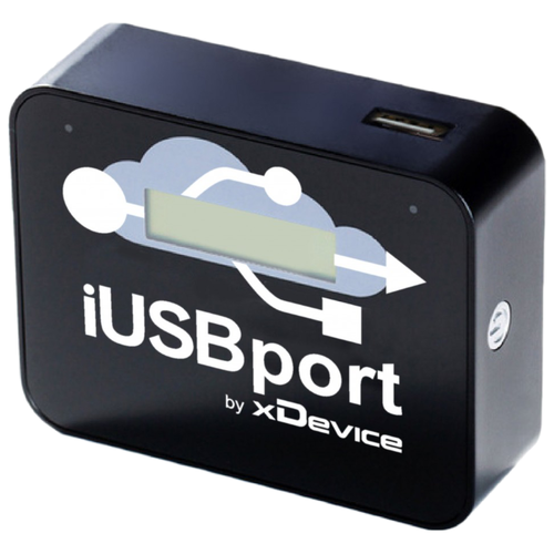 Аккумулятор xDevice WiFi Медиацентр iUSBport 2600mAh, черный