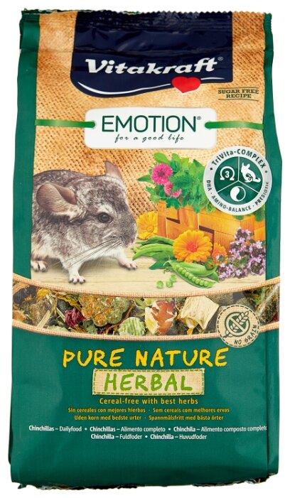 Корм для шиншилл Vitakraft Emotion Pure Nature Herbal