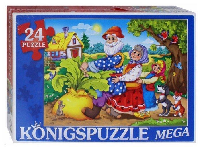 Пазл Рыжий кот Konigspuzzle Репка (ПК24-9985), 24 дет.
