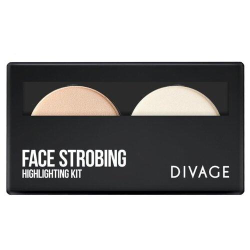 DIVAGE Палетка для стробинга Face Strobing недорого