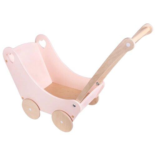 Купить Коляска-люлька Rodent-Kids Polly большая розовый, Коляски для кукол